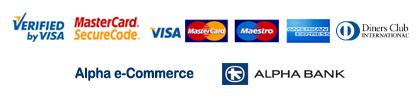 Alpha e-Commerce | VISA | Mastercard | Maestro | American Express